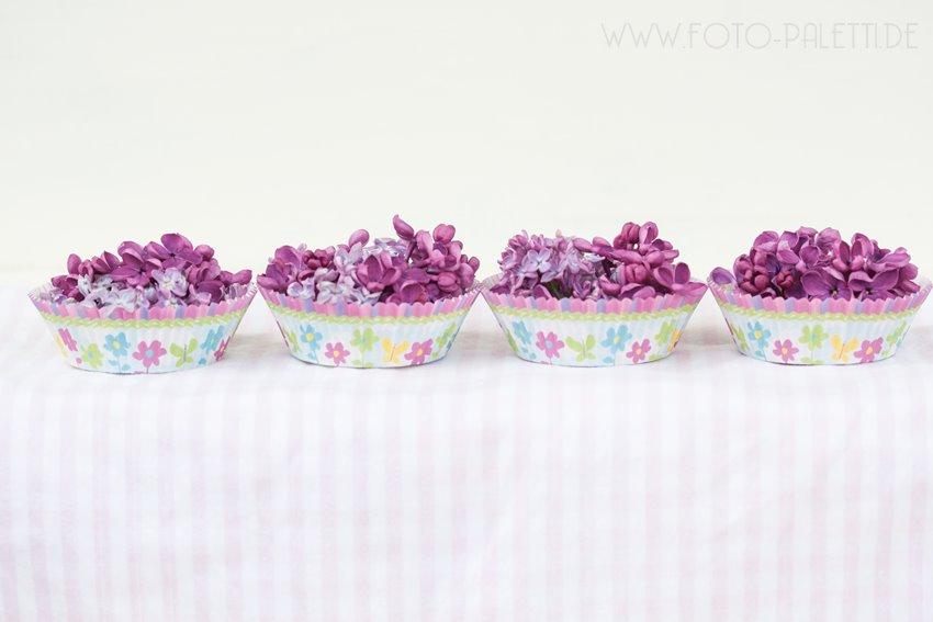 Flieder-Muffins