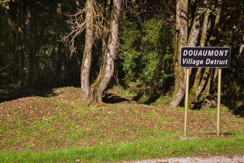 Zerstörtes Dorf Douaumont
