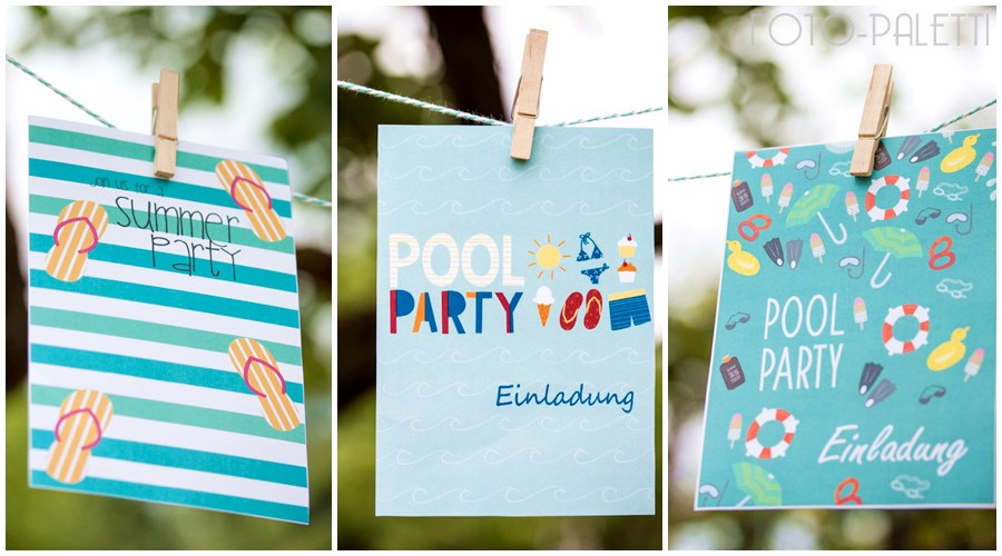 summerpary cards