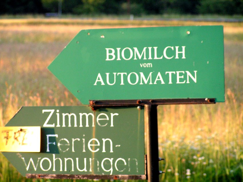 Biomilch-Automat