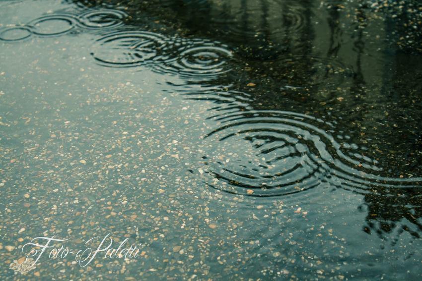 Regentropfenwellen