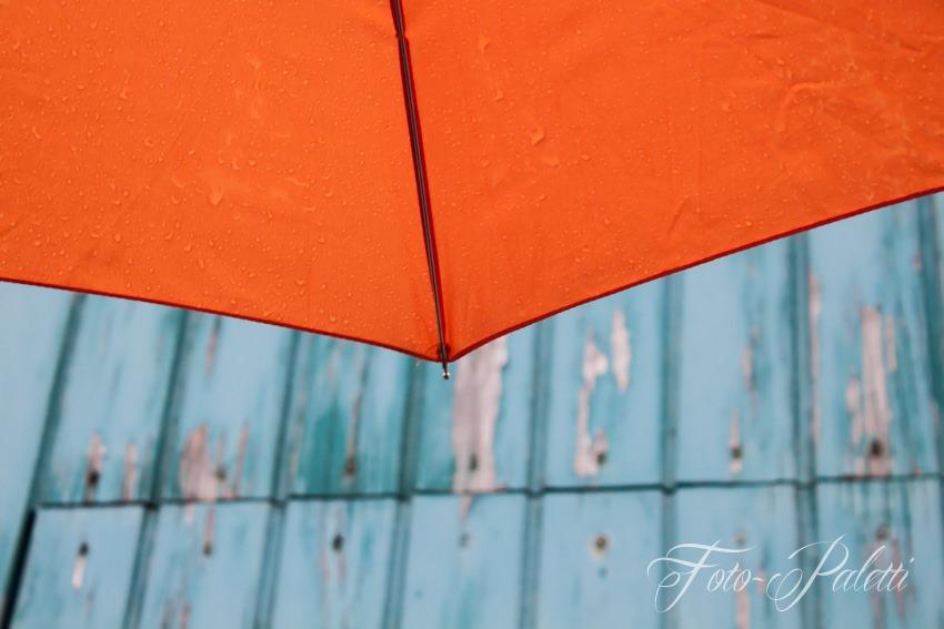 Regenschirmausschnitt